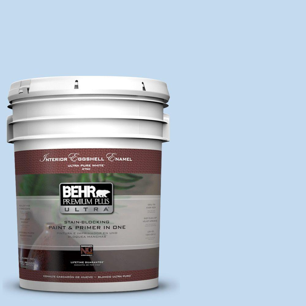 BEHR Premium Plus Ultra 5-gal. #560A-2 Morning Breeze Eggshell Enamel Interior