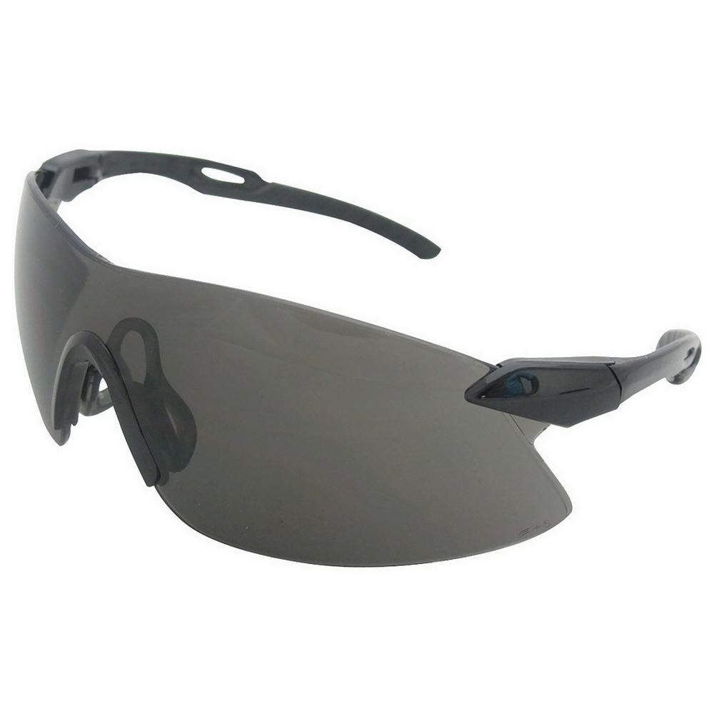 Strikers Eye Protection Black Temple and Gray Lens