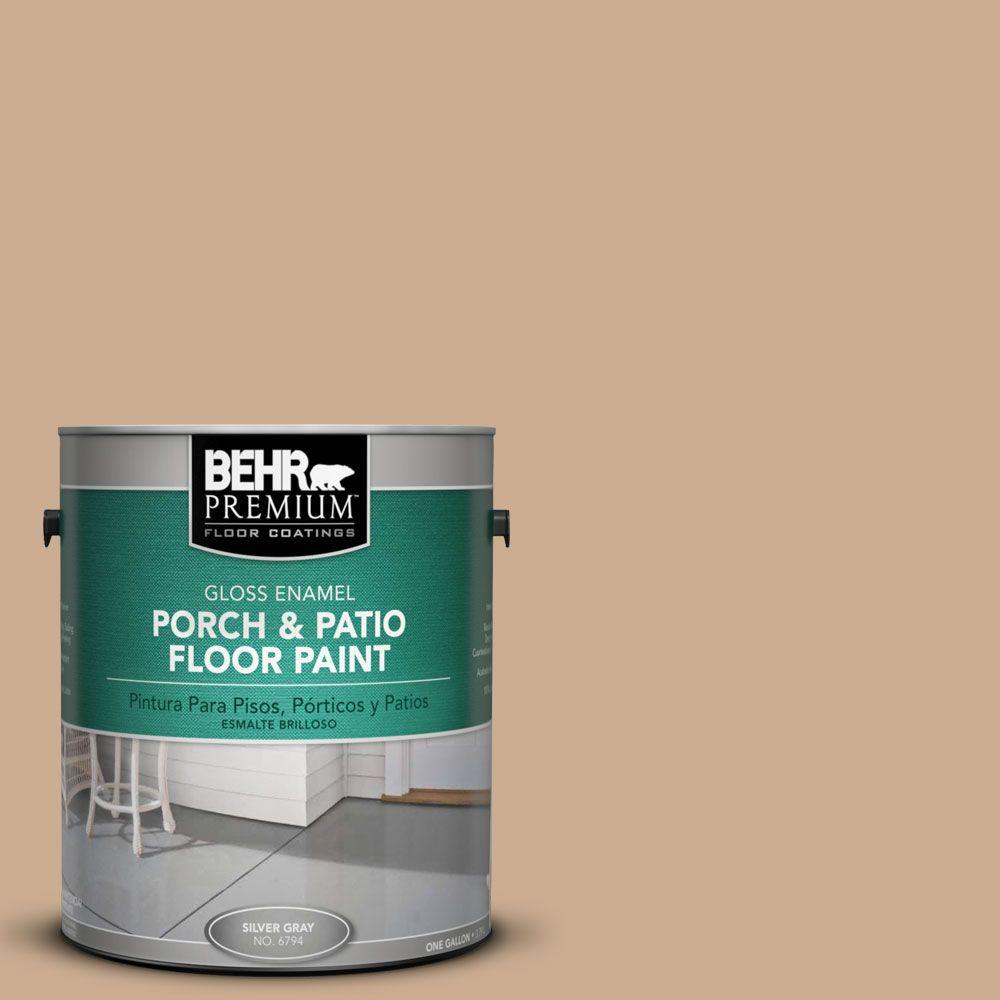 BEHR Premium 1-gal. #pfc-23 Tan Gloss Porch and Patio Floor Paint