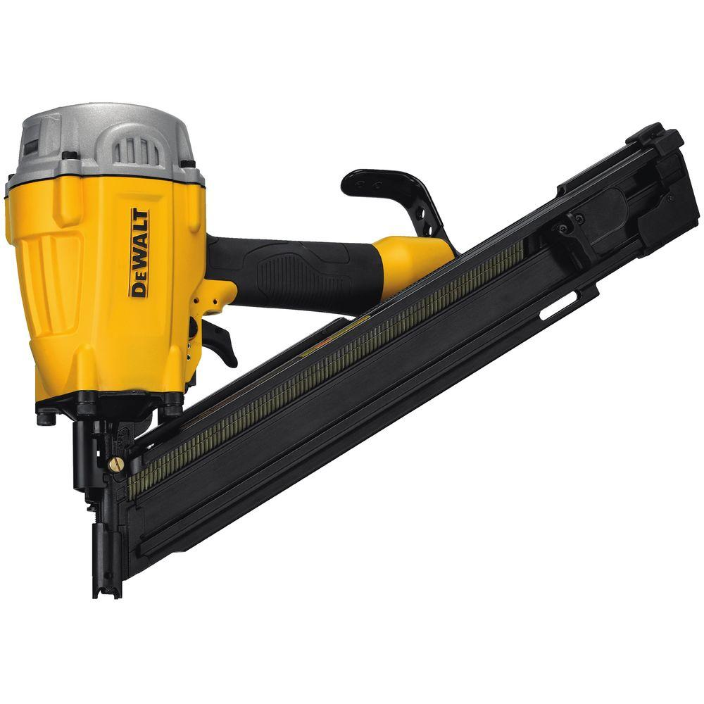 porter cable 3 12 in 21 degree full round framing nailer fr350b the home depot