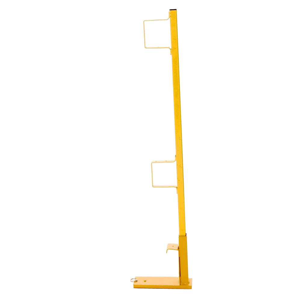 Steel Wall Scaffold Guardrail Post with Holder For Bracket