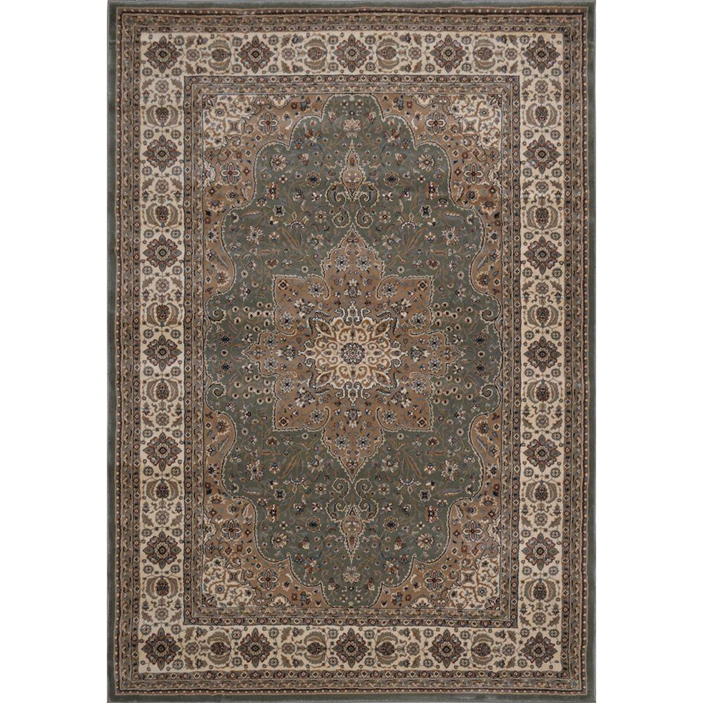 Majestic Green 5 ft. 2 in. x 7 ft. 6 in. Area Rug
