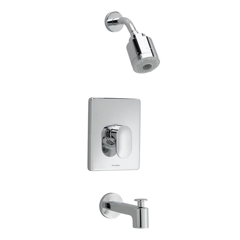 Moments FloWise Pressure Balance 1-Handle Tub and Shower Faucet Trim Kit