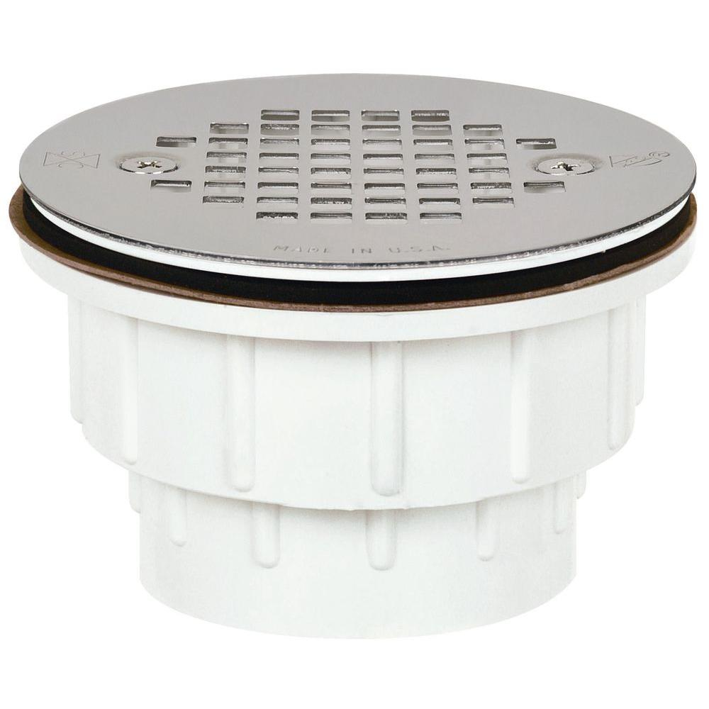 Sioux Chief 2 in. PVC Shower Drain with Strainer
