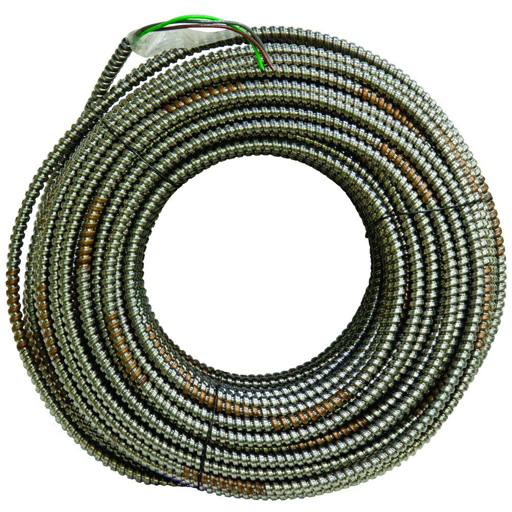 AFC Cable Systems 4/1 x 250 ft. Bare Armored Ground Cable-1303-42-00