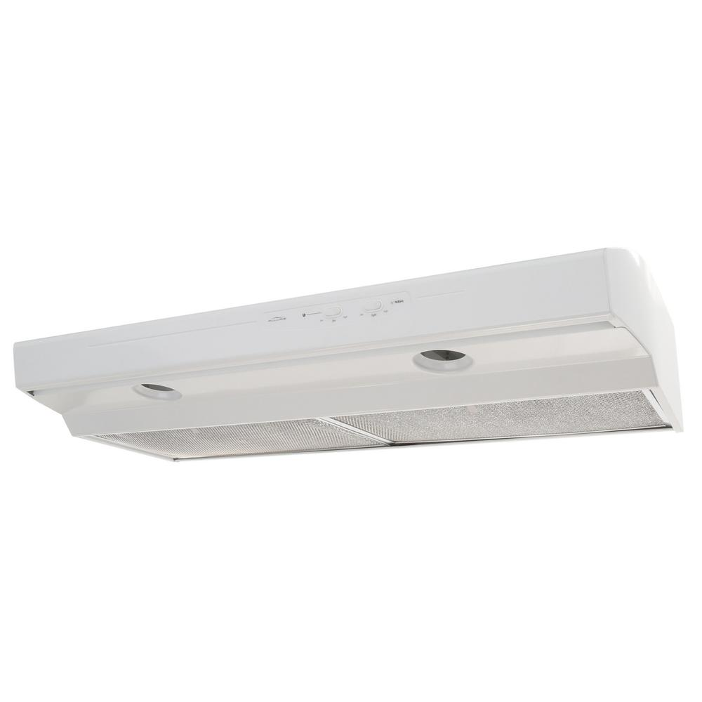 NuTone Allure I Series 42 in. Convertible Range Hood in White