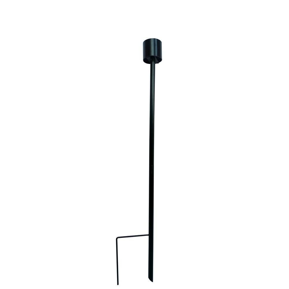 Alpine 30 in. Gazing Globe Metal Stand Stake-KAB628 - The Home