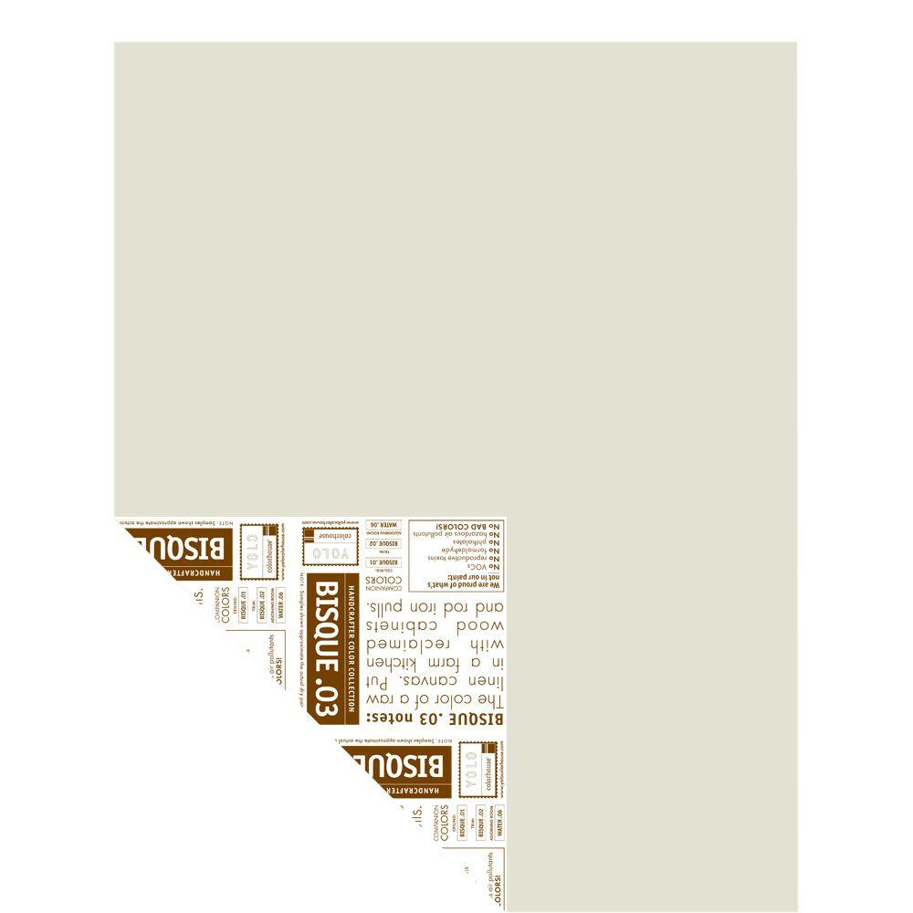 YOLO Colorhouse 12 in. x 16 in. Bisque .03 Pre-Painted Big Chip Sample