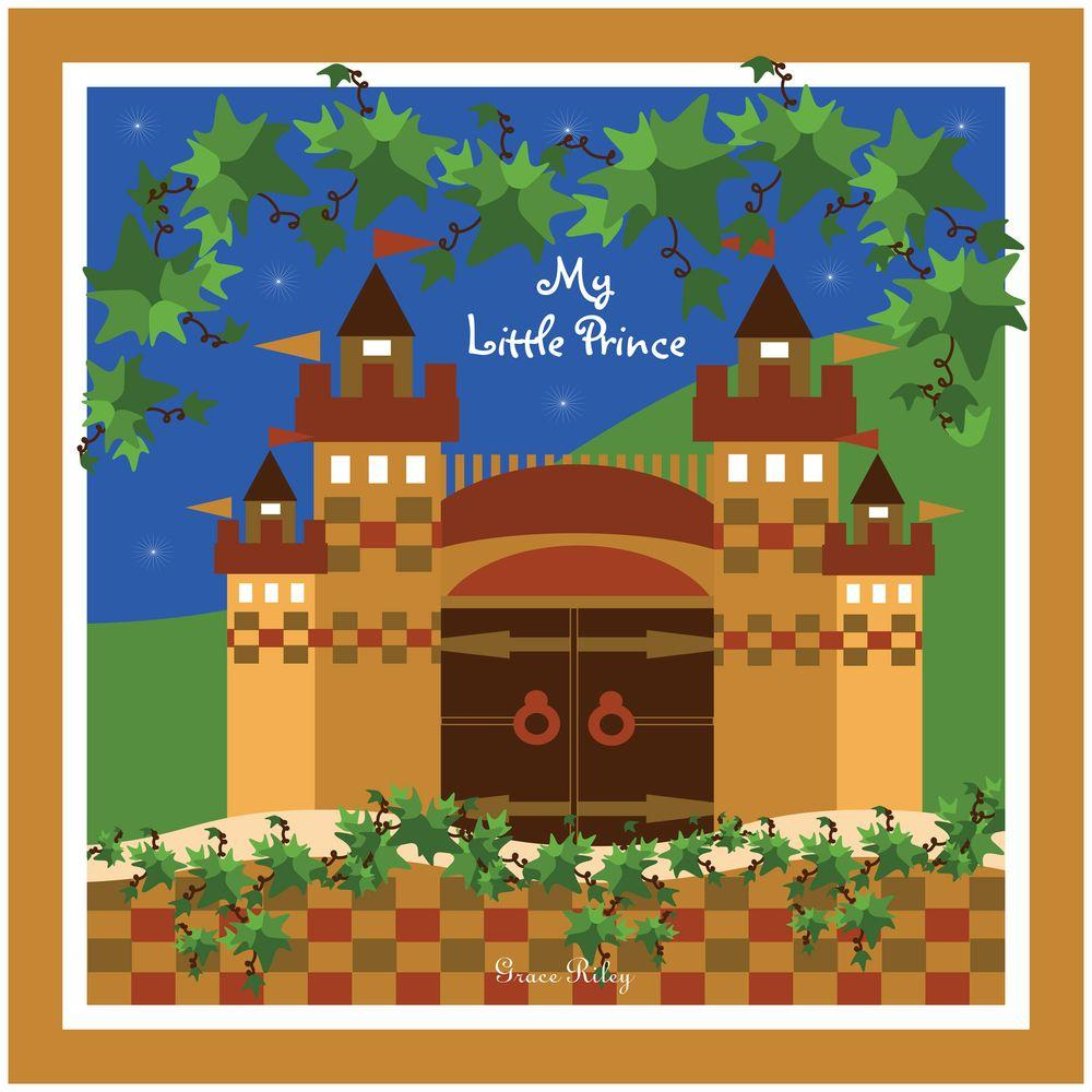 null 18 in. x 18 in. My Little Prince Canvas Art