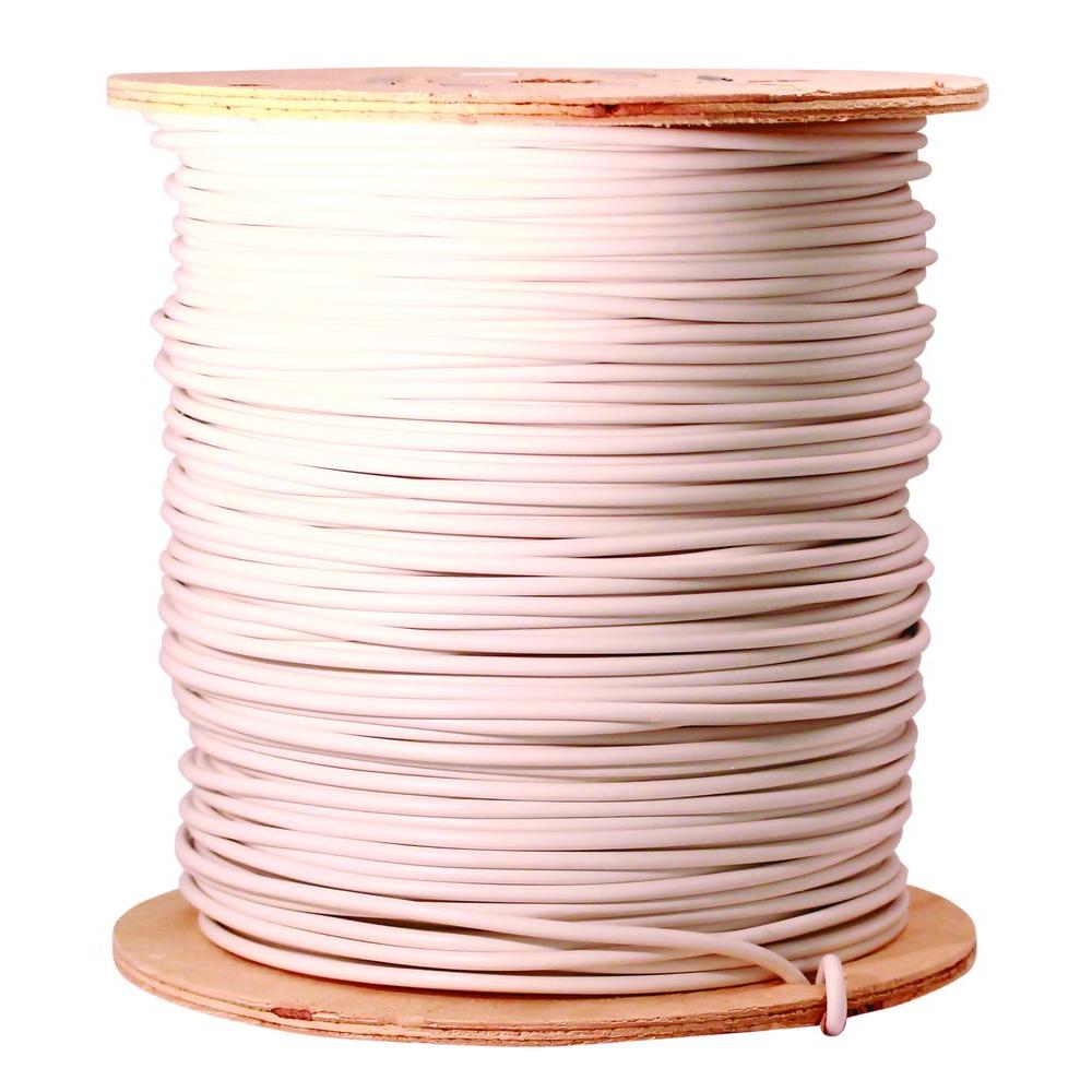 1000 ft. 8 White Stranded CU GPT Primary Auto Wire