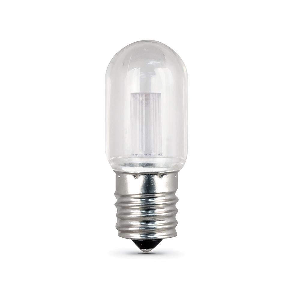 15W Equivalent Warm White T7 LED Appliance Light Bulb (Case of
