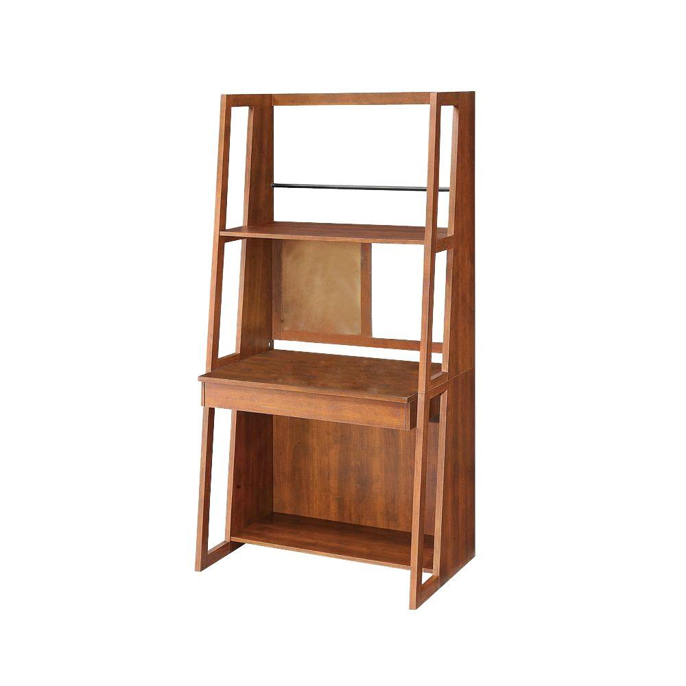 Whalen Highland Transitional Laminate Work Tower in Oak