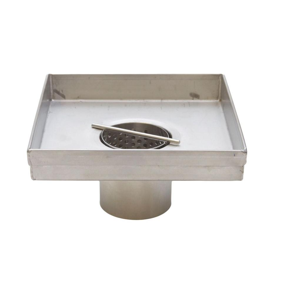 Square Shower Drains 5 In Drain Body Only