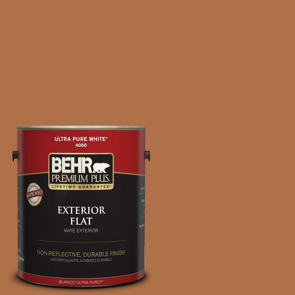 1-gal. #PMD-41 Copper Mine Flat Exterior Paint