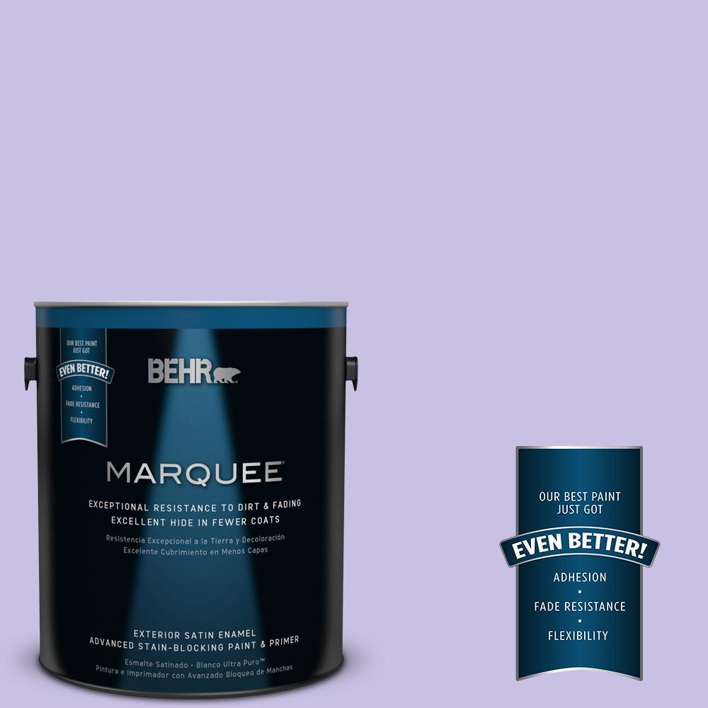 BEHR MARQUEE 1-gal. #P560-3 Party Hat Satin Enamel Exterior Paint