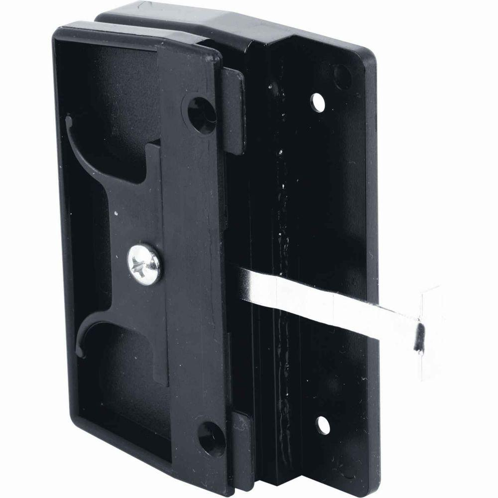 prime line mortise style sliding screen door latch and