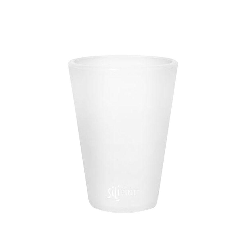 Silipint 1.5 oz. Silicone Shot Glass in Frosted White-DISCONTINUED