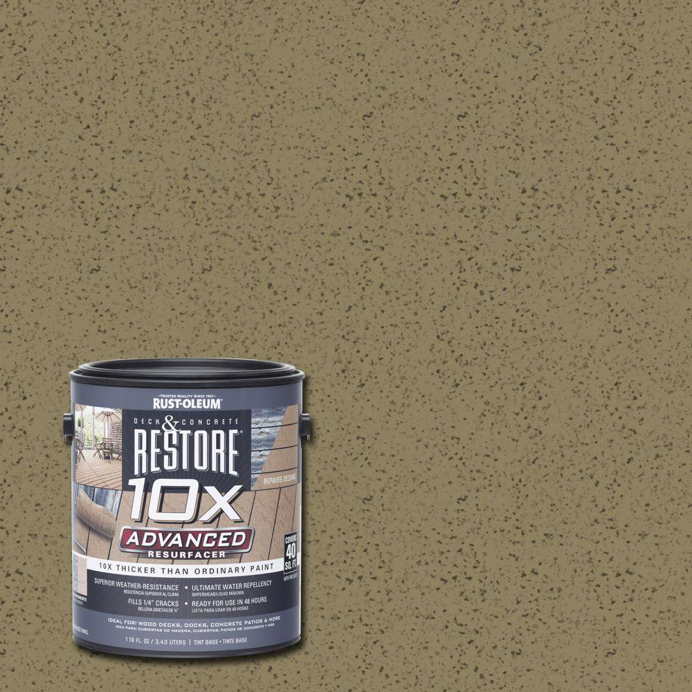 Rust-Oleum Restore 1 gal. 10X Advanced River Rock Deck and Concrete Resurfacer