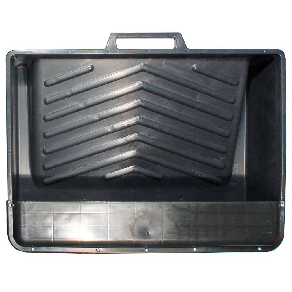 18 in. Plastic Deep-Well Tank Tray