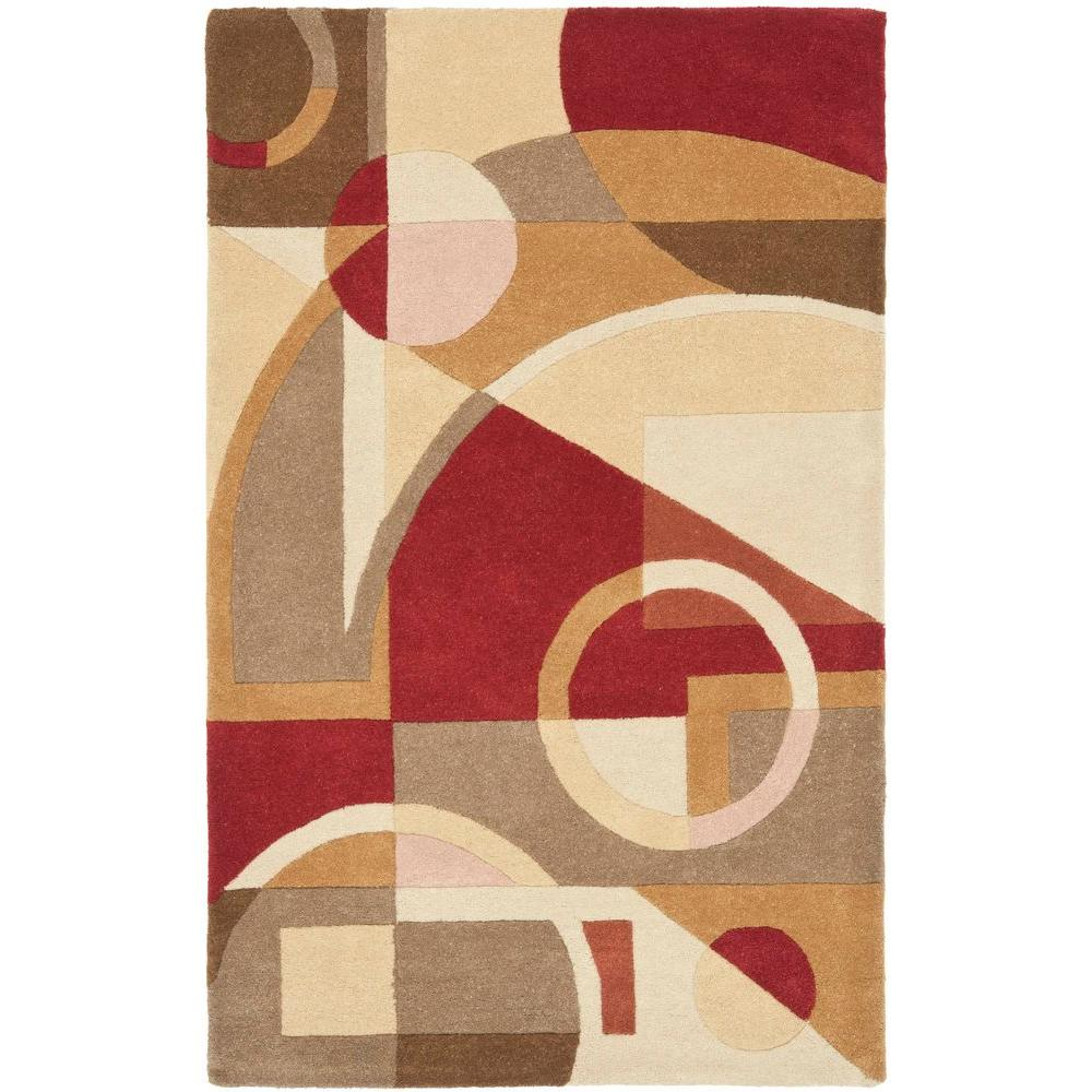 Safavieh Rodeo Drive Beige/Multi 3 ft. 6 in. x 5 ft. 6 in. Area Rug