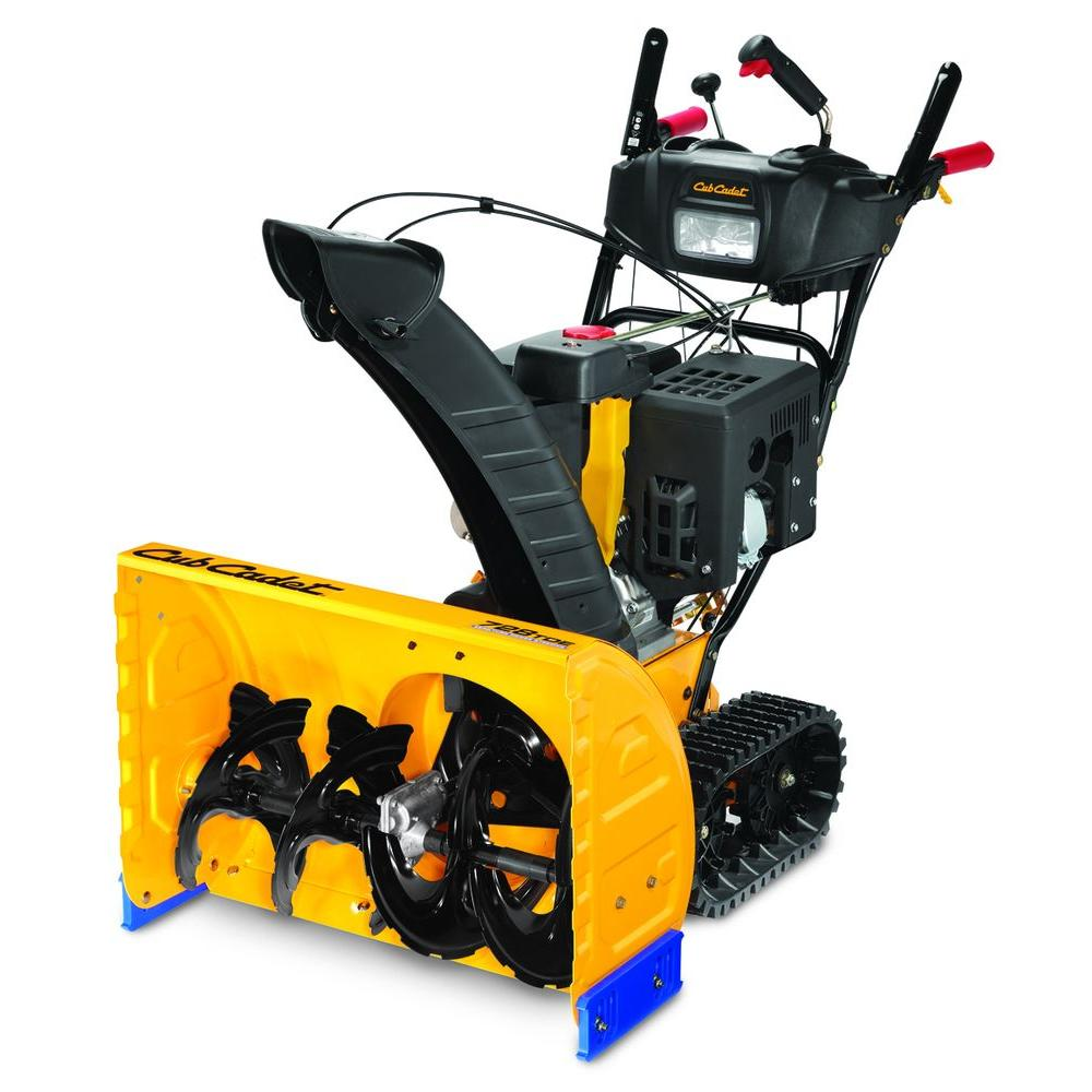 Cub Cadet 28 in. Two-Stage Track Drive Electric Start Gas Snow Blower-DISCONTINUED