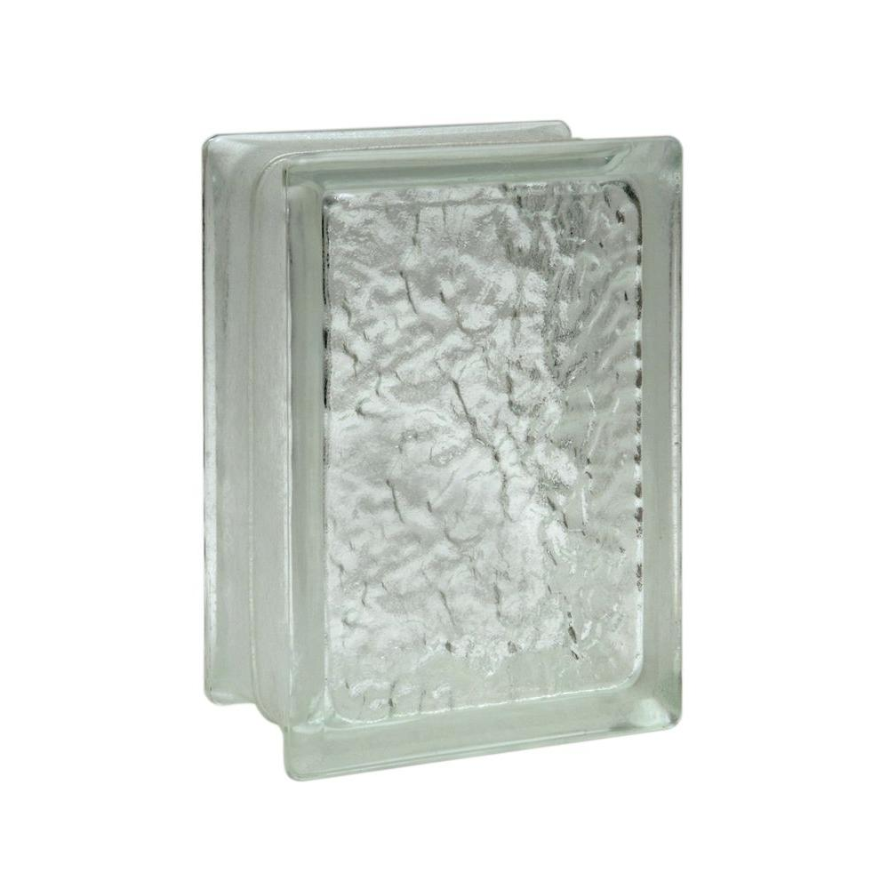 Pittsburgh Corning IceScapes 6 in. x 8 in. x 3 in. Glass Blocks (12-Pack)
