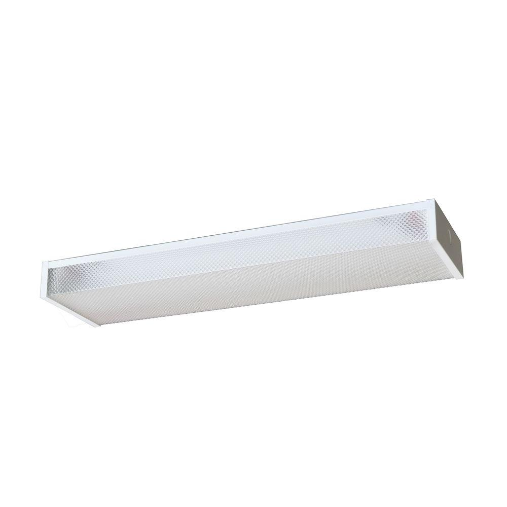 Radionic Hi Tech Wrap 24 in. Low Profile White Fluorescent Fixture-DISCONTINUED