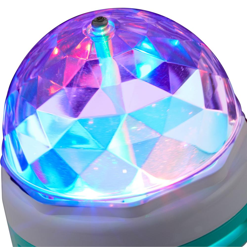 LED party light that produces an array of vivid colors