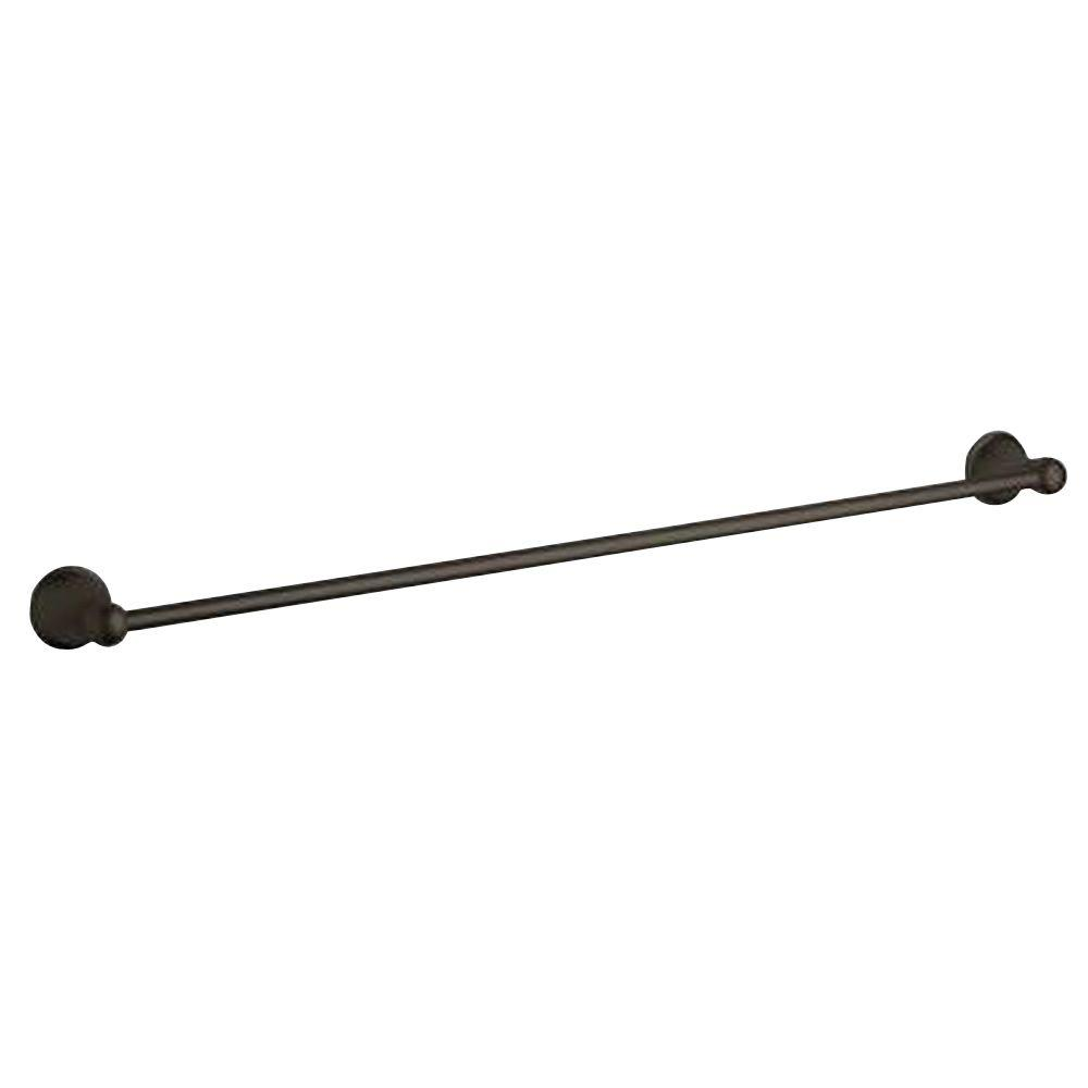 GROHE Seabury 24 in. Towel Bar in Oil Rubbed Bronze