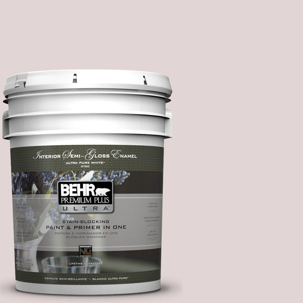 Interior Paint, Exterior Paint & Paint Samples: BEHR Premium Plus Ultra Paint 5-gal. #N120-2 Razzberry Fizz Semi-Gloss Enamel Interior Paint 375005