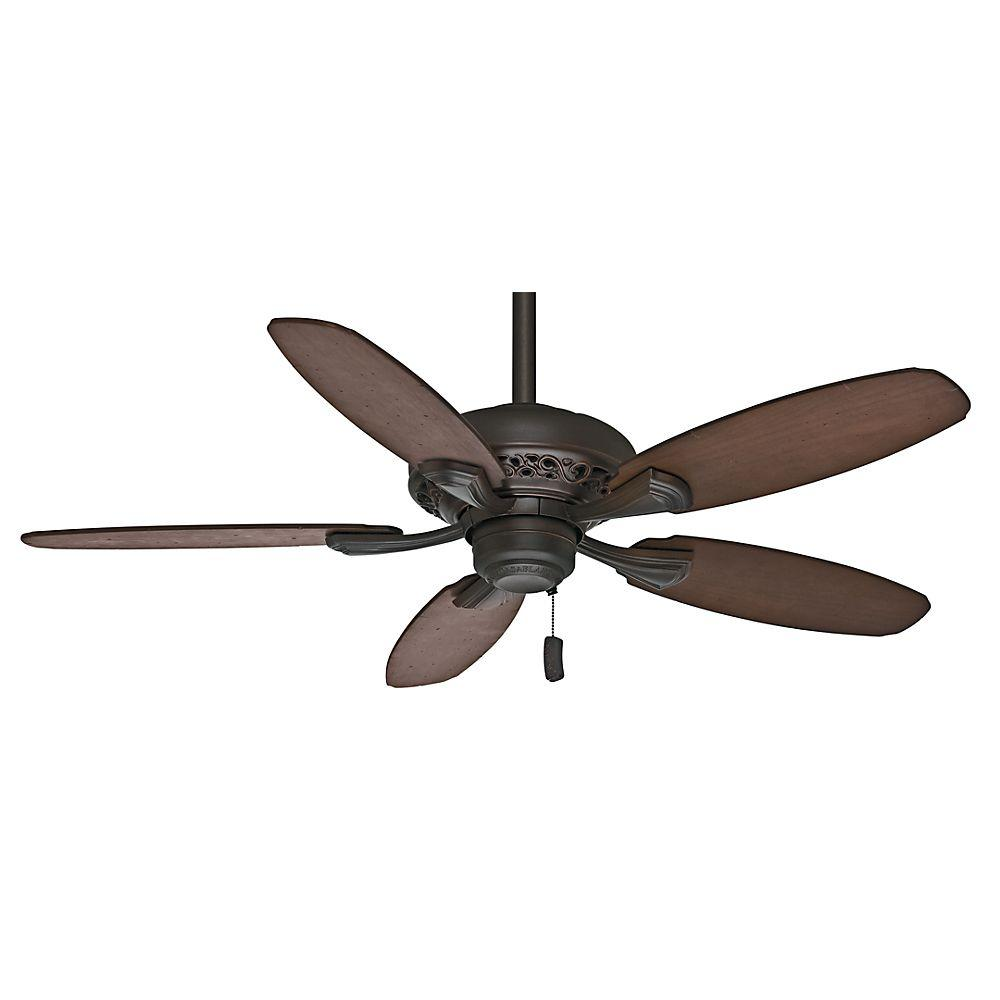 Casablanca Fordham 44 in. Brushed Cocoa Indoor Ceiling Fan