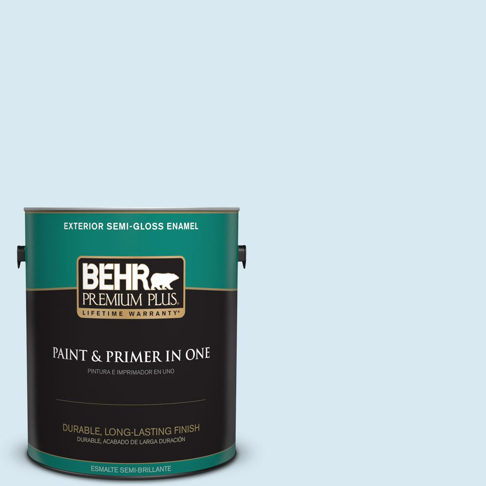 1-gal. #540A-1 Frost Wind Semi-Gloss Enamel Exterior Paint