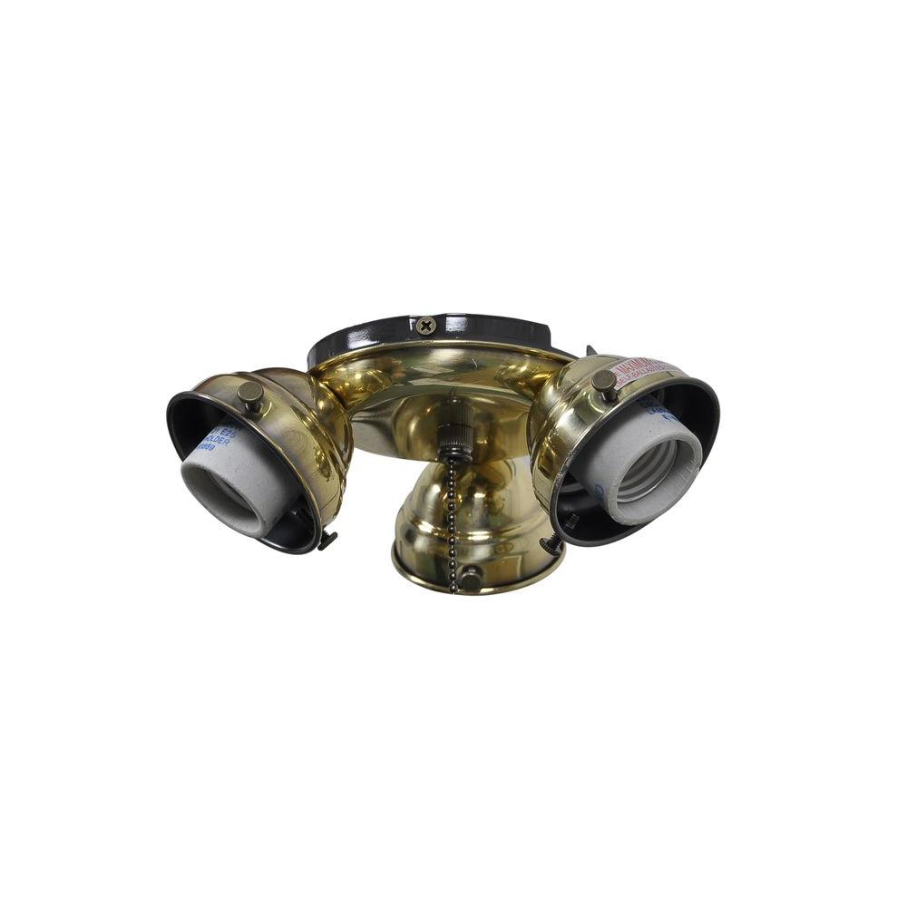 Ceiling Fan Light Replacement Parts : Air cool glendale in flemish brass ceiling fan