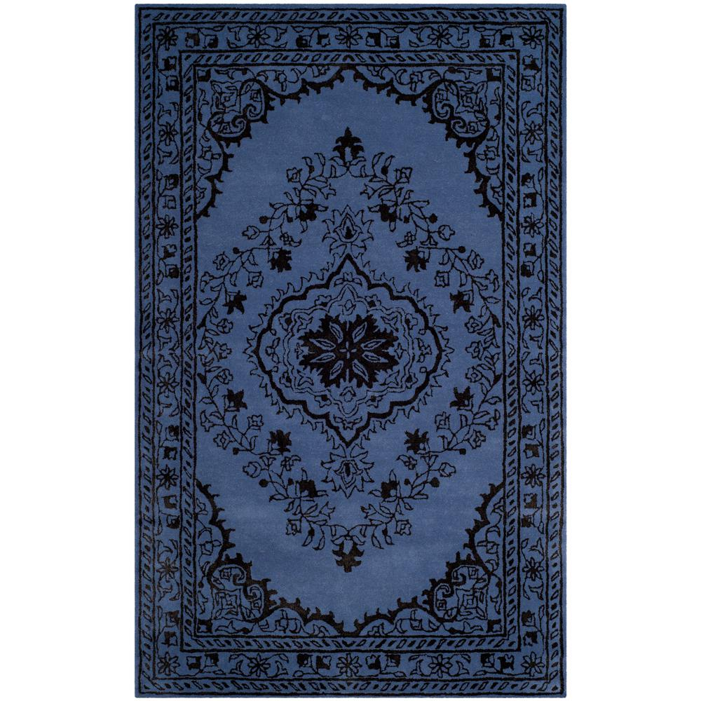 Glamour Purple 5 ft. x 8 ft. Area Rug