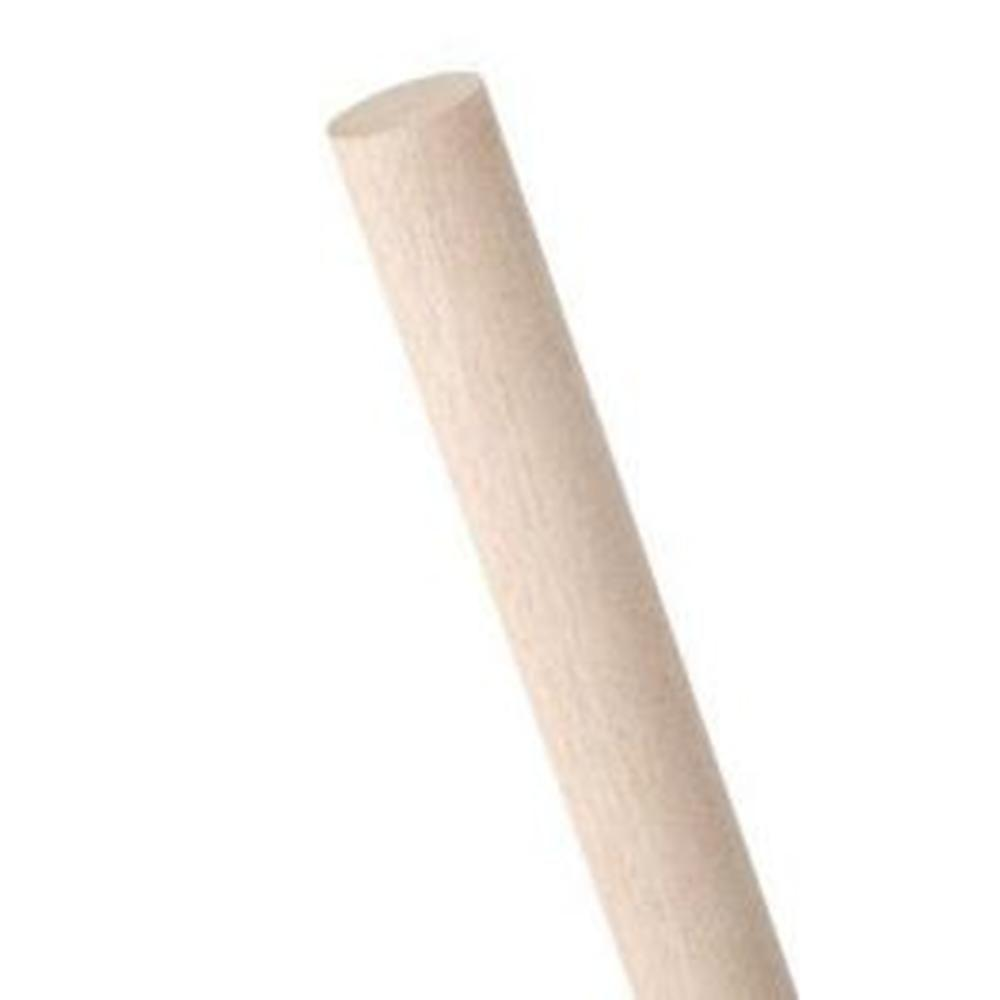 1-1/4 in. x 36 in. Oak Round Dowel