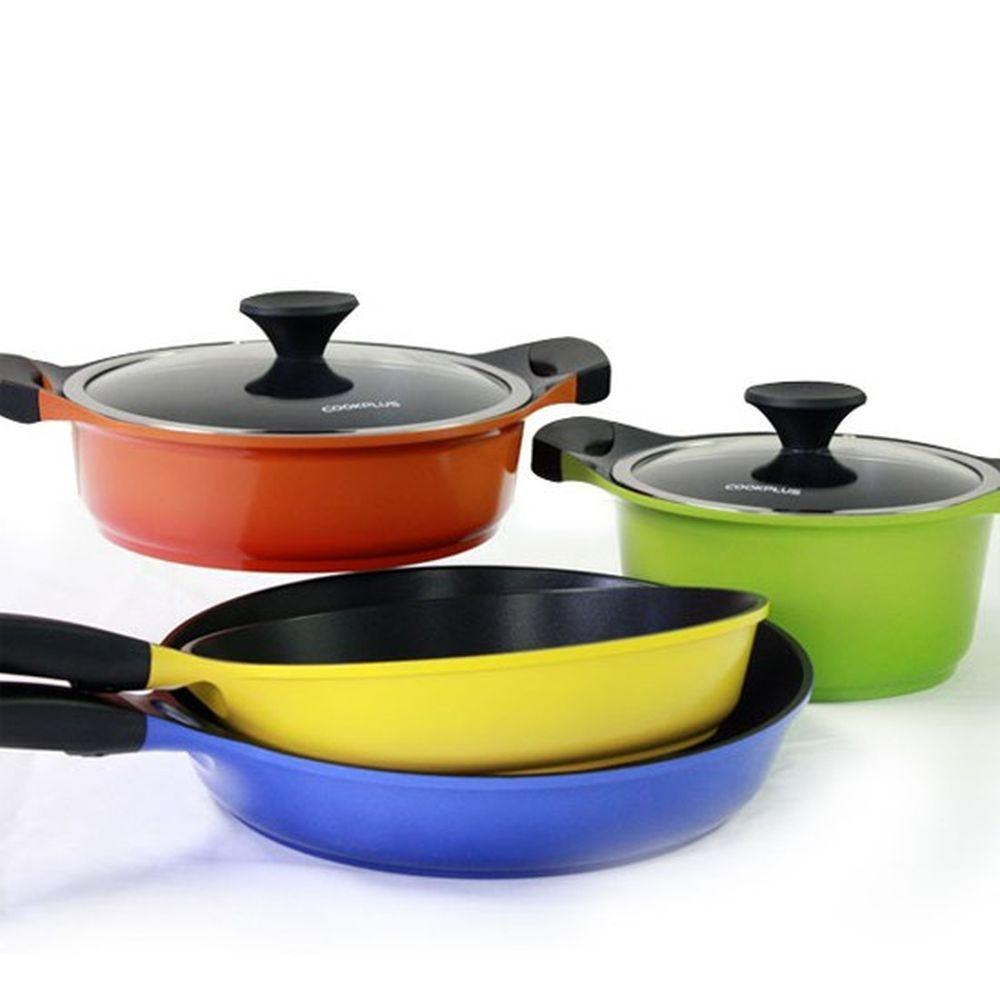 Lock and Lock 6 Piece Non-Stick Ceramic Cookware-DISCONTINUED