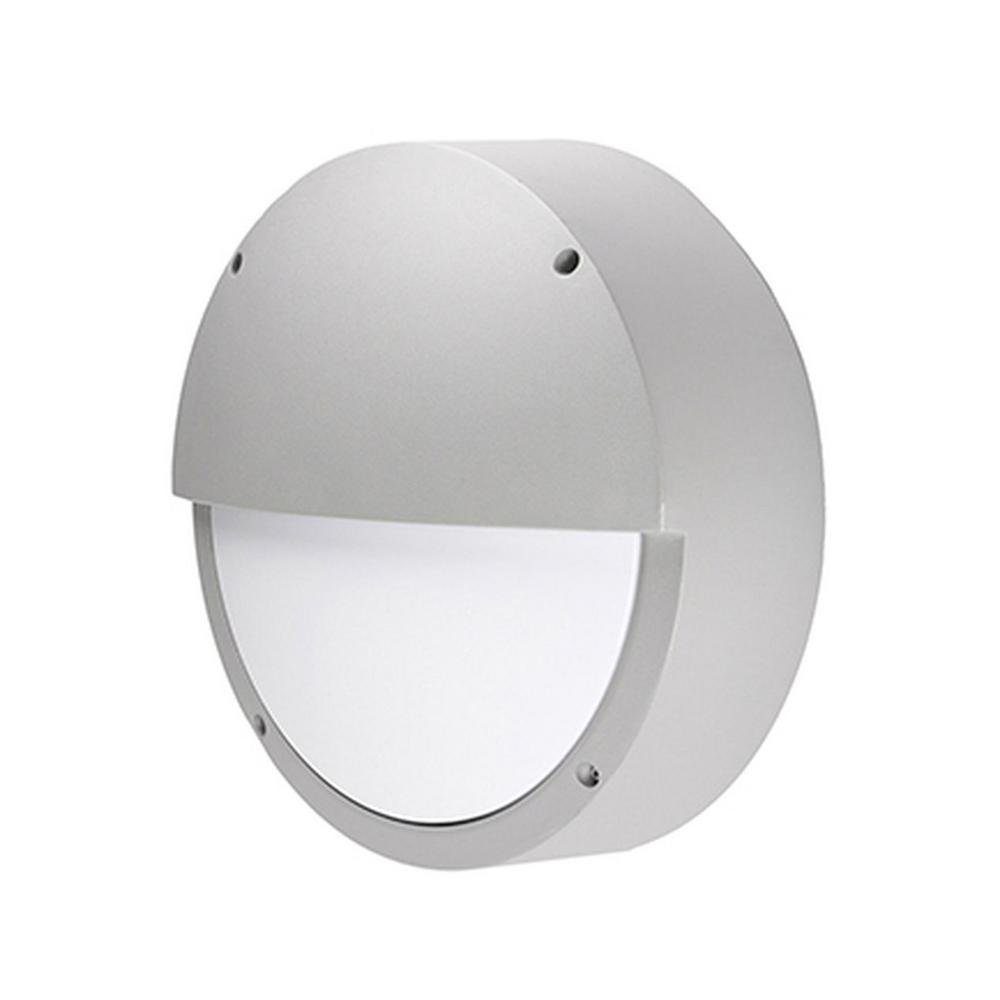 Wall Sconce With Integrated Switch : Radionic Hi Tech Rochester Gray Outdoor Integrated LED Wall Mount Sconce-K_OS_5997 - The Home Depot