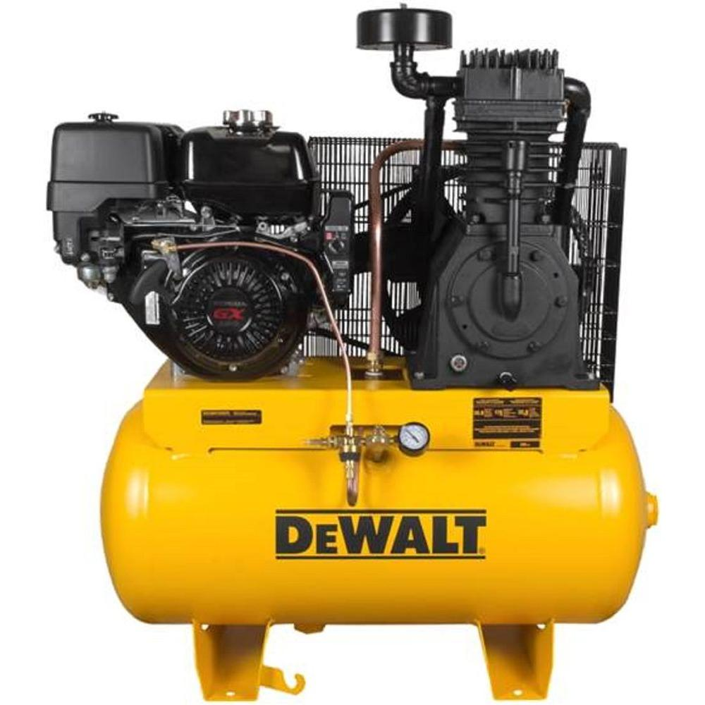 DEWALT 30 Gal. Portable Gas-Powered Truck Mount Air Compressor-DXCMH1393075 -