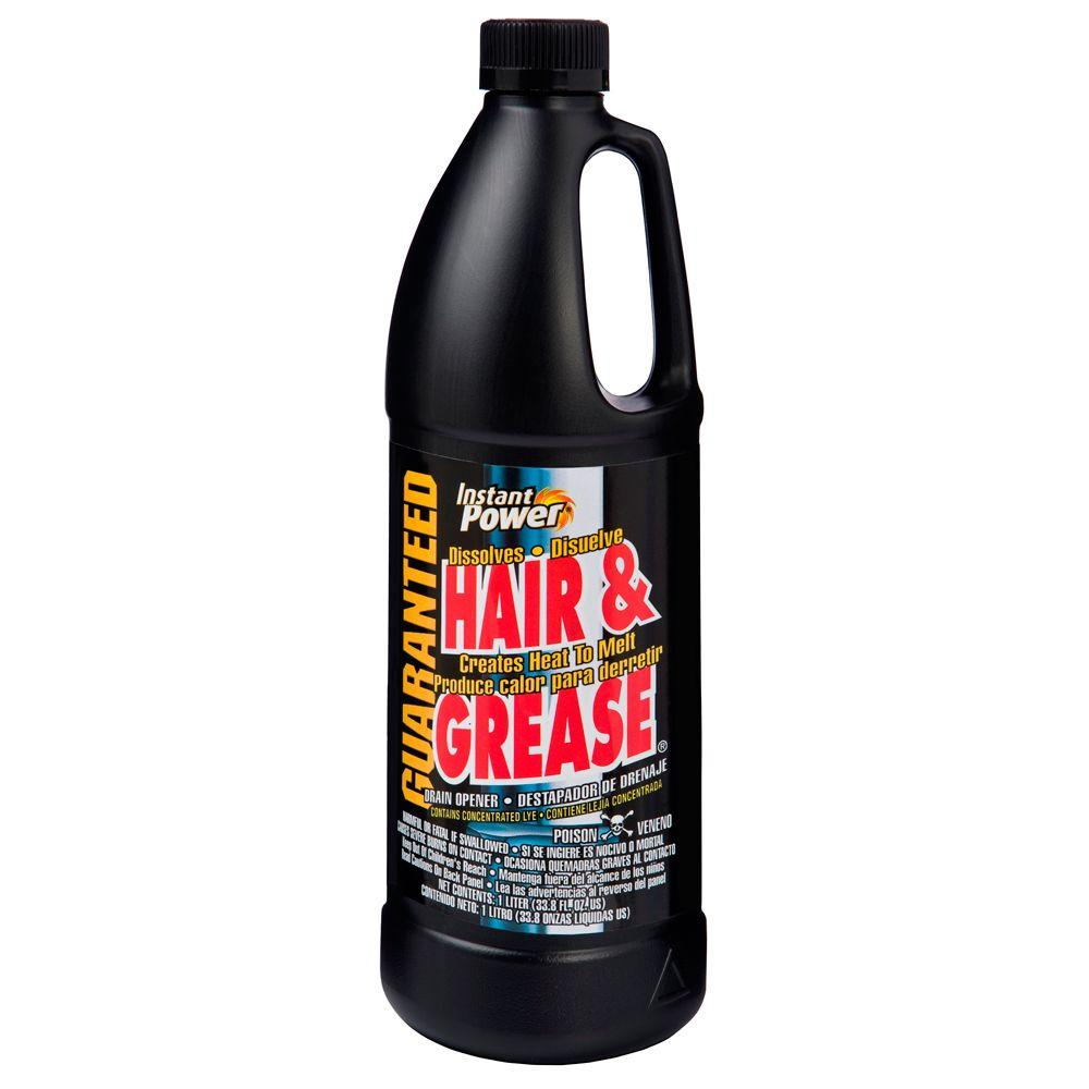 Instant Power 33.8 oz. Hair and Grease Drain Opener