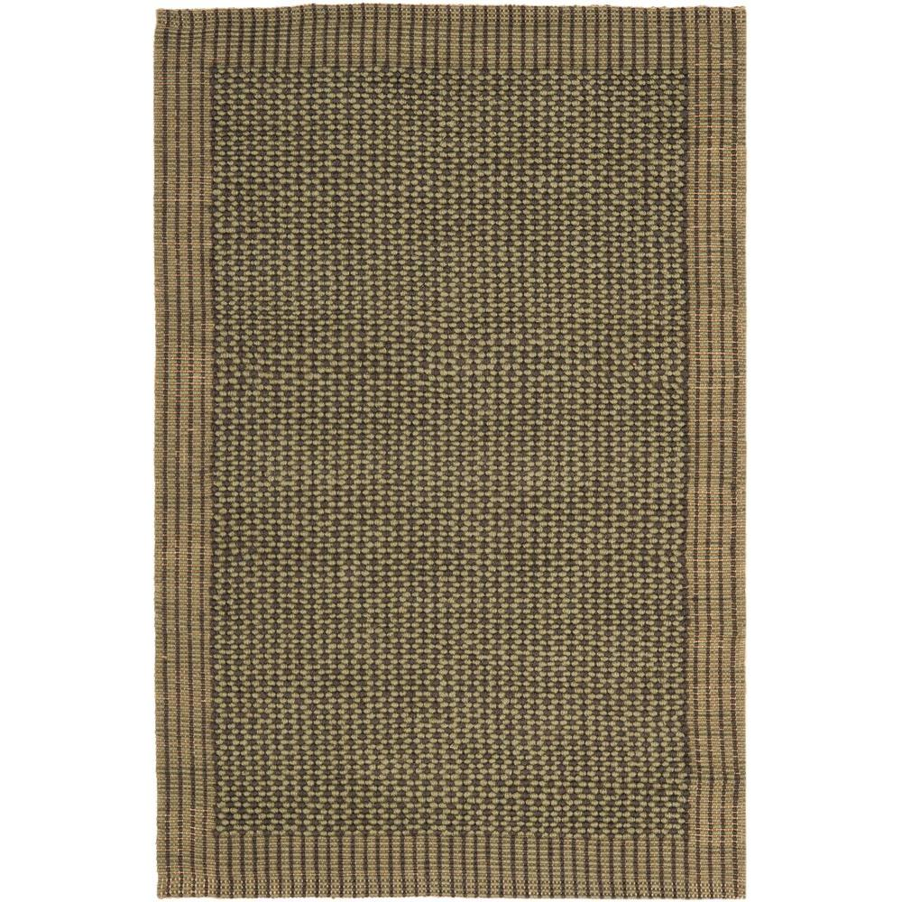Safavieh Natural Fiber Charcoal/Green 3 ft. x 5 ft. Area Rug