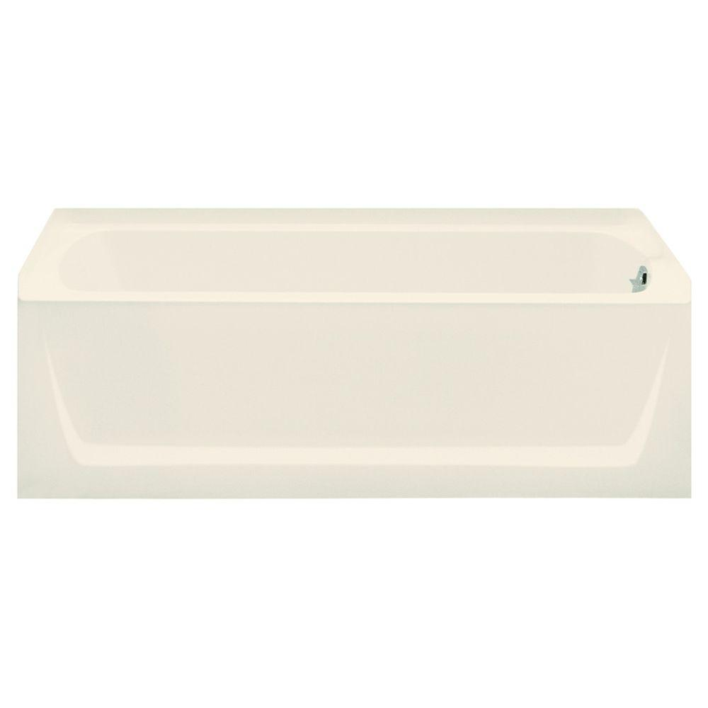 STERLING Ensemble 5 ft. Right Drain Bathtub in Biscuit-71121120-96 - The