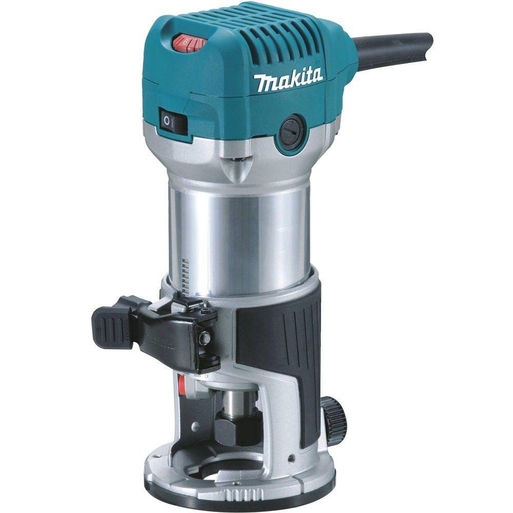 6.5 Amp 1-1/4 HP Corded Fixed Base Variable Speed Compact Router