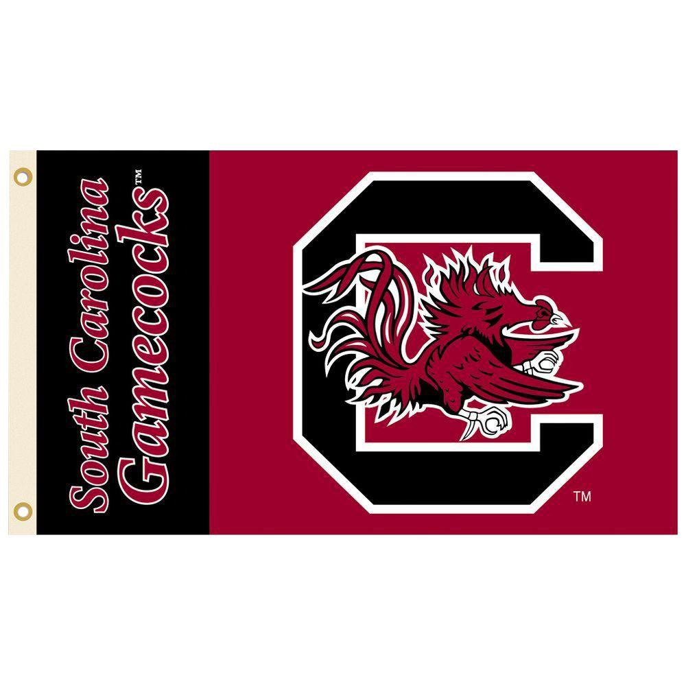 BSI Products NCAA 3 ft. x 5 ft. South Carolina Flag