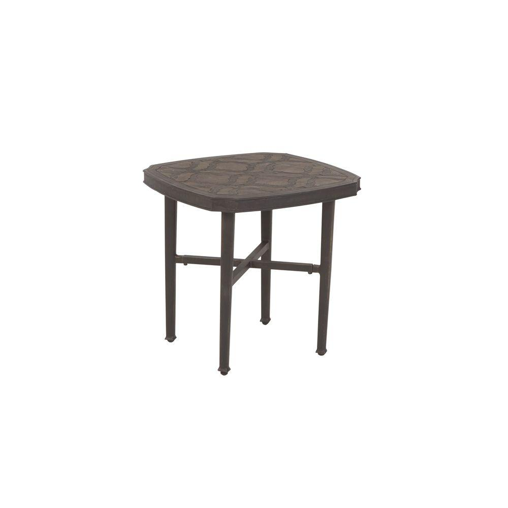 Martha Stewart Living Sea Bright Patio Side Table-DISCONTINUED
