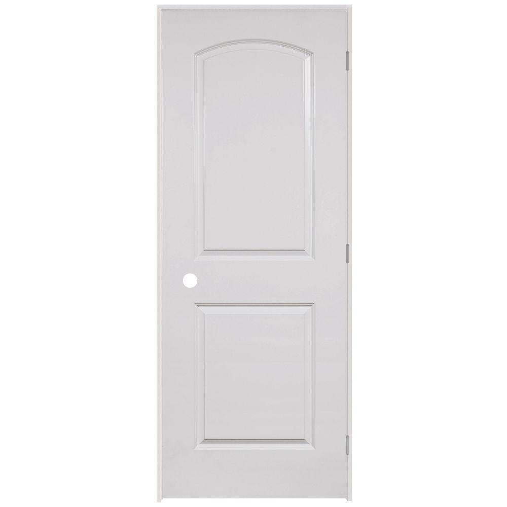 Steves sons 24 in x 80 in 2 panel round top smooth for 18 x 78 interior door
