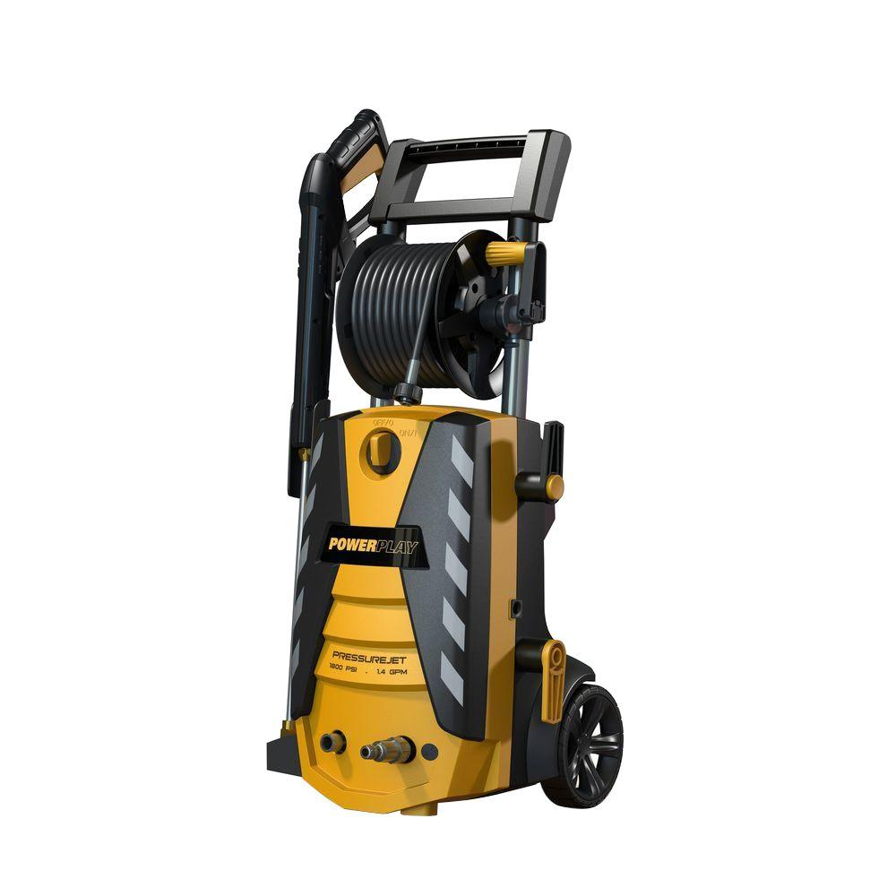 Powerplay PressureJet 1800-PSI 1.4-GPM Axial Cam Pump Electric Pressure Washer