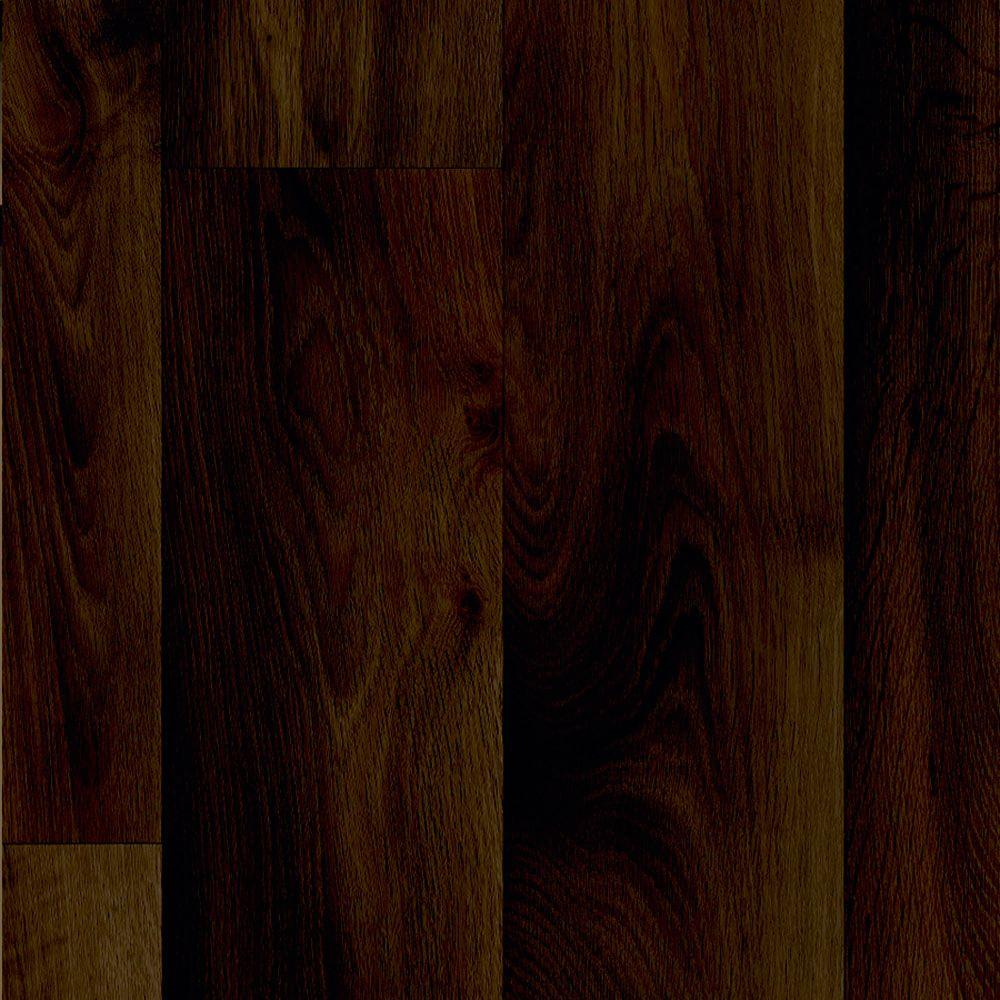 TrafficMASTER Midnight Oak Plank 13.2 ft. Wide x Your Choice Length