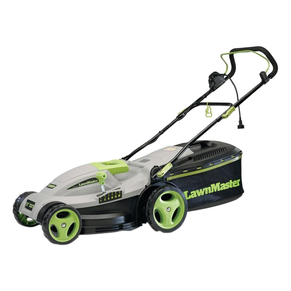 15 in. 2-in-1 Mulching Electric Corded Push Mower
