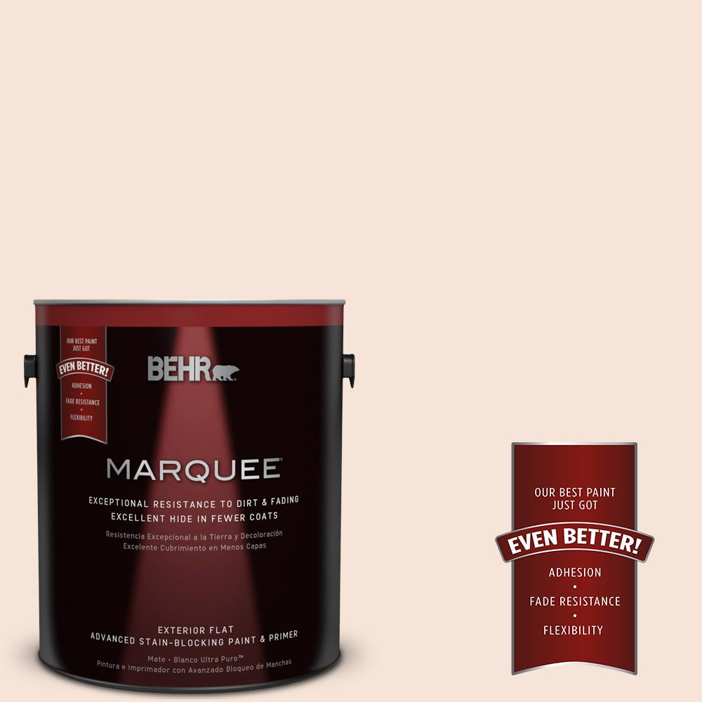 BEHR MARQUEE Home Decorators Collection 1-gal. #HDC-CT-12 Peach Rose Flat Exterior Paint