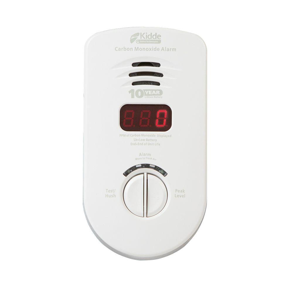 10 Year Worry Free Plug-In CO Alarm for Living Area